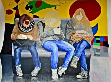Painting Progress - Art & Electronica